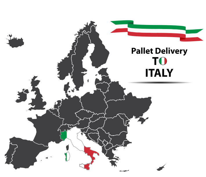 Italy pallet delivery