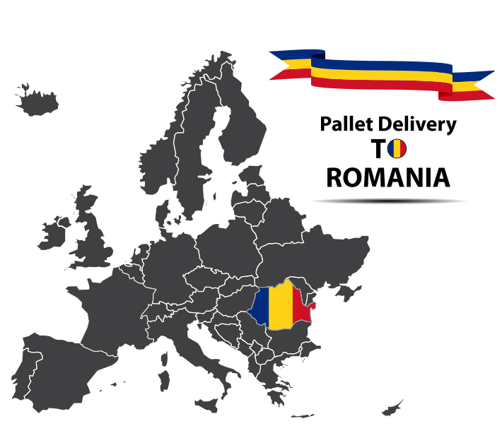 Romania pallet delivery