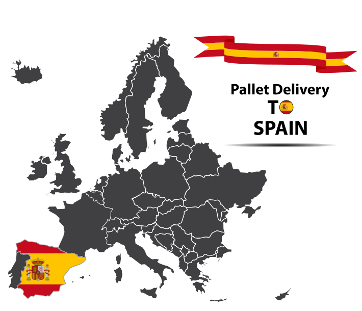 Spain pallet delivery