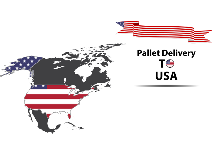 USA pallet delivery